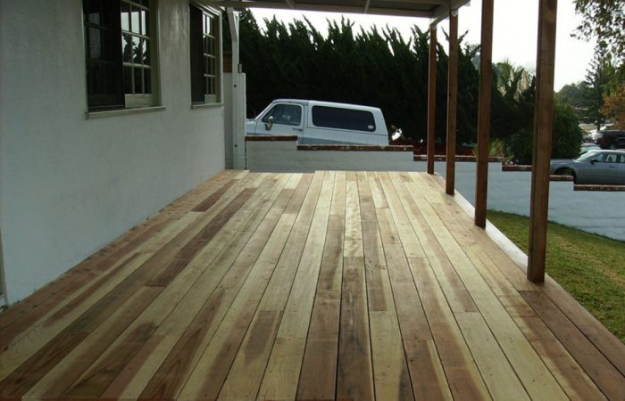Hardwood and Composite Decking